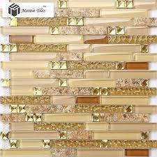 glass conch tiles golden glass mosaic tile sheets interlocking