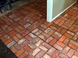 how to clean interior brick floors home brick