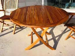 Patio Furniture Round Round Outdoor Dining Table For 6 U2013 Mitventures Co