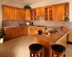 Honey Oak Kitchen Cabinets Wall Color Honey Oak