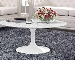 modway lippa 40 marble coffee table white mw eei 1651 whi at