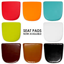 charles eames faux leather seat pads for tolix style chair table