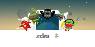pay android sent justice league figurines to those who completed