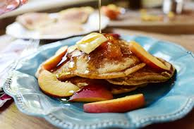 peachy pancakes the pioneer woman