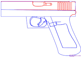 3 how to draw a glock 17 9mm hand gun