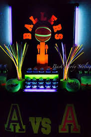glow in the birthday party 15 awesome glow in the birthday party ideas spaceships and