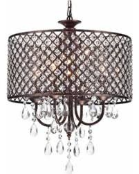 crystal l shade chandelier memorial day sale mariella 4 light crystal drum shade chandelier