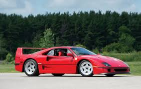 f40 auction rod stewart s f40 offered at auction autoevolution