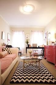 chevron rug living room and matching chevron prints and polka dots