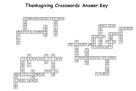 lalc resources thanksgiving crossword puzzles
