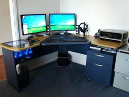 Custom Gaming Desks Computer Desk Gaming Types Of Gaming Desks Custom Gaming Computer