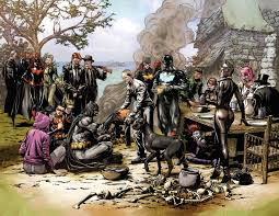 how much did the batman thanksgiving picture come to fruition