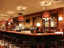 Hanging Bar Lights by Amazing Lighting Bar With A Pennant Glass Pendant Lighting Pendant