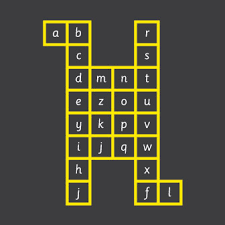 grid pattern alpha alphabet grid