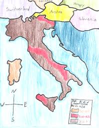 Italy On The Map by Ljhskpomer Frontpage