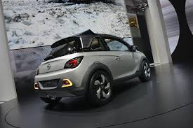 opel adam 2017 opel adam rocks geneva 2013 video live photos autoevolution