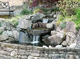 garden ponds and waterfalls pictures small backyard 2017 small