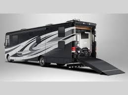 Class A Motorhome With 2 Bedrooms Canyon Star Motor Home Class A Toy Hauler Rv Sales 1 Floorplan