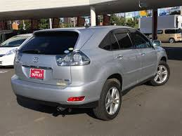 2008 toyota harrier hybrid premium s package used car for sale
