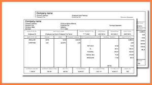 6 free pay stub templates online securitas paystub