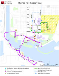 Map Of Long Beach Long Beach Transit Invites Public To Discuss Restructuring Of