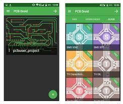 pcb designer pcb droid mobile pcb designer app electronics lab