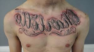 chest tattoos for quotes ideas