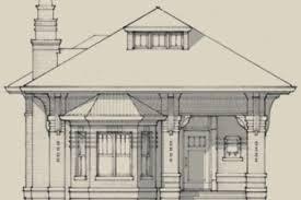 2 stone craftsman bungalow house plans small stone craftsman