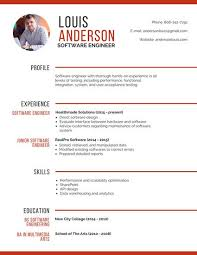 software engineer resume professional software engineer resume templates by canva