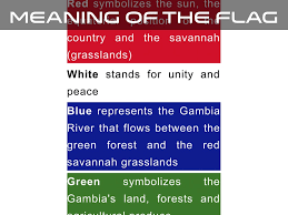 Gambia Flag Gambia By Tanner M
