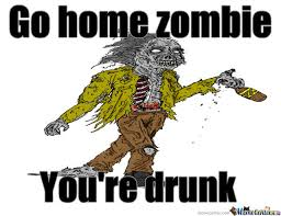Meme Zombie - kairos slaying the monopoly zombie meme