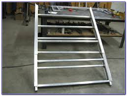 aluminum sled deck ramp decks home decorating ideas qyx1j0y4yg