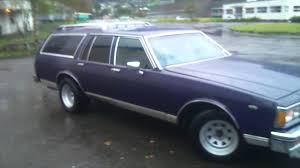 blue station wagon roof flexing bass chevy 1980 caprice station wagon classic youtube
