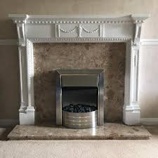 white fireplace surround mantelpiece marble hearth marble fire