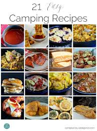 rv cuisine 21 easy cing recipes add a pinch