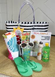 thanksgiving gift for teachers fun in the sun summer relaxation kit with free printable teacher