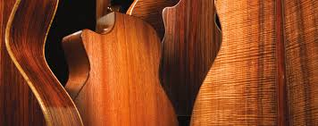 by wood guitars