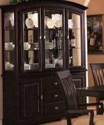 Black Buffet Hutch by China Cabinets China Cabinets Crafted With Country Style Home