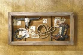 wild west home decor modern style wild west home decor wild west memories shadow box wall