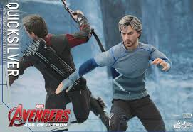 quicksilver movie avengers hot toys quicksilver figure photos order info marvel toy news