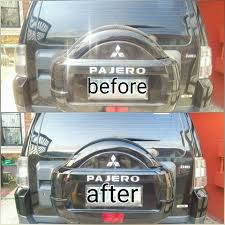 mitsubishi pajero 2008 glass coating mitsubishi pajero 2008 black samurai carcoating