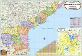 Large World Map Poster Andhra Pradesh Map Political Paper Print Maps Posters In India