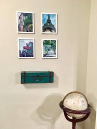 thefreckledtourist com create a travel themed room create a travel themed room in your home