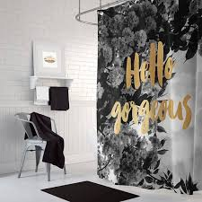 black white and silver bathroom ideas best 25 gold shower curtain ideas on gold shower