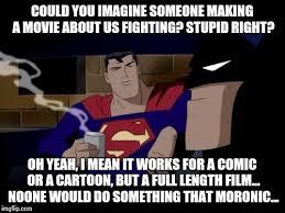 Cartoon Meme Maker - batman and superman meme imgflip