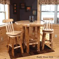 Log Dining Room Tables Log Dining Room Furniture And Rustic Dining Sets