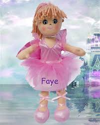 flower girl doll gift personalised flowergirl rag doll personalised flowergirl rag