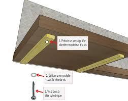 meuble cuisine a poser sur plan de travail poser un plan de travail en bois massif la fabrique à bois