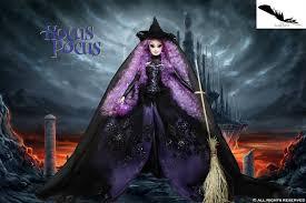 halloween barbie hocus pocus ooak barbie by the black swan company