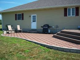 Paver Designs For Patios by Exterior Design Cool Patio Design With Azek Pavers Plus Natural